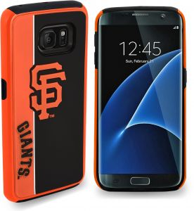 Forever Collectibles Samsung Galaxy S8 Dual Hybrid BOLD Case - MLB San  Francisco Giants 9ce8ae3834