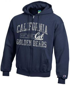 Champion NCAA California Golden Bears Men s Men s Full Coverage Zip Hoodie 6c53fc744