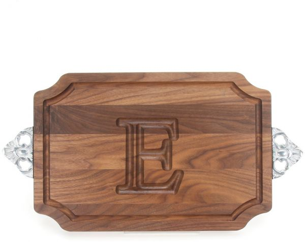 Bigwood Boards W310 Sc E Cutting Board With Handle Personalized Cutting Board Large Cheese Board Walnut Wood Serving Tray With Handle E
