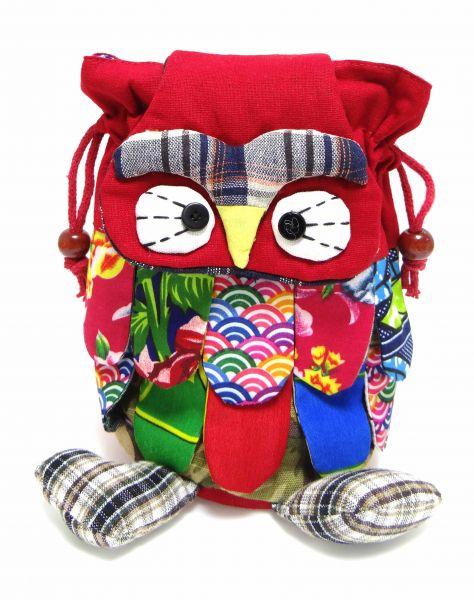 Red Owl Favor And Return Gift Bag Birthday Party Size 20 Cm X