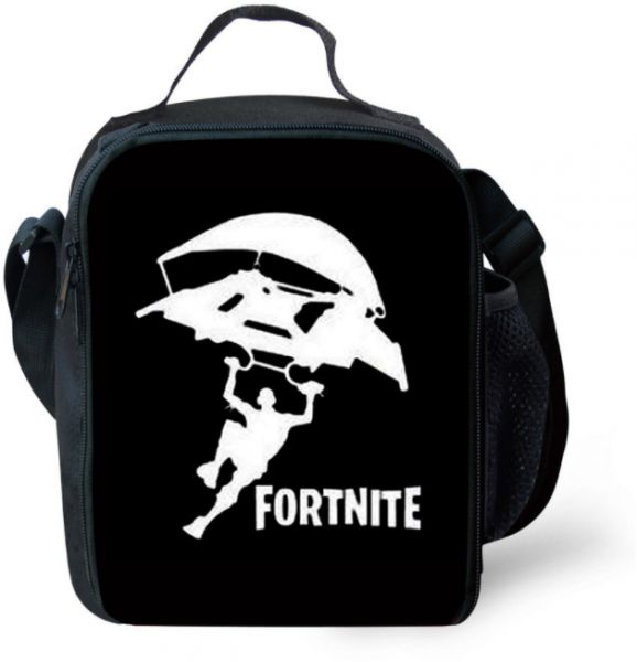 FORTNITE Lunch Bags Women Portable Functional Canvas Stripe Insulated Thermal Food Picnic Kids Cooler Lunch Box Bag Tote-x    السعودية   سوق