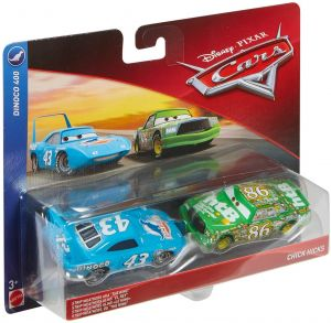 Disney Cars The King Hicks Toy Vehicle 2 Pack