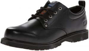 bdb4943b7340 Skechers for Work Men s Cottonwood Fribble Slip Resistant Work Shoe