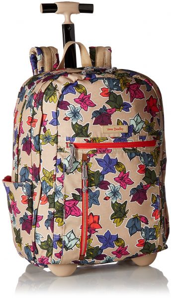 4ac859f93d86 Vera Bradley Women s Lighten up Rolling Backpack