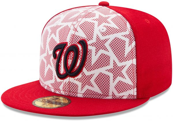 MLB Washington Nationals Men s 2016 Stars   Stripes 59Fifty Fitted ... e3980e81f26