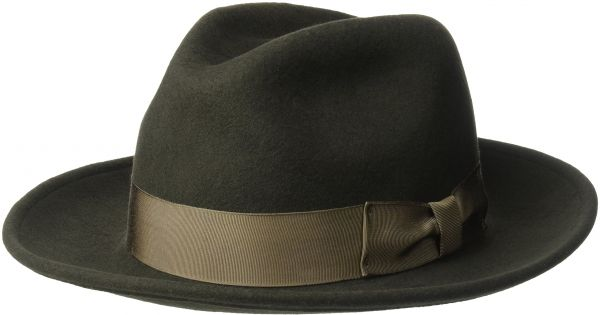 2029b43822a21 Country Gentleman Men s Frederick Wide Brim Fedora Hat