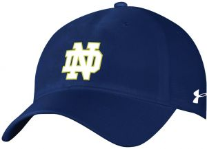 e1dd0a75 Under Armour NCAA Notre Dame Fighting Irish Adult Women NCAA Women's  airvent Adjustable Cap, One Size, Navy