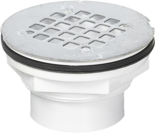Oatey 42093 101 Ps Abs Solvent Weld Shower Drain With Stainless