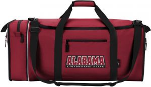 a8cb31baf09c Officially Licensed NCAA Alabama Crimson Tide Steal Duffel Bag