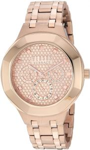 bc187dae70ae Versus by Versace Women s  Laguna City  Quartz Tone and Gold Plated Casual  Watch(Model  VSP360617)