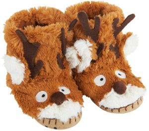 9cc86d9a324 Little Blue House By Hatley Toddler Kids Hi-Top Slouch Animal Slipper