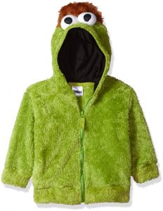8557dec604d7 Sesame Street Toddler Boys  Fuzzy Costume Hoodie (Multiple Characters)