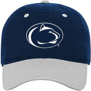 f8ecbfb5b4797 NCAA Penn State Nittany Lions Kids Two Tone Adjustable Slouch Hat