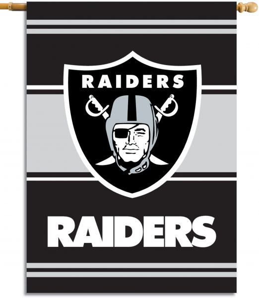 Fremont Die NFL Oakland Raiders 2-Sided 28-by-40-Inch House Banner ... 3ad635ae22699