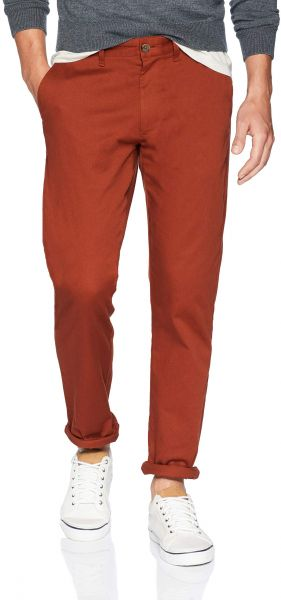 J Crew Mercantile Men S Straight Fit Stretch Chino Deep Redwood 30 32
