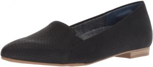 e398279ee35b Dr. Scholl's Women's Anyways Loafer, Black Snake Print Fabric, 11 M ...