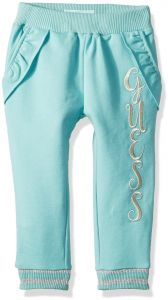 cecb5343fb4d GUESS Little Girls  Embroidered Leg Active Jogger Pants