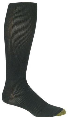 6fc0c2b57ef Gold Toe Men s Firm Compression Support Over the Calf Dress Sock ...
