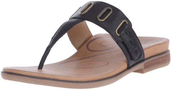 c977f2639931 Aetrex Women s Zara D-Ring Thong Dress Sandal