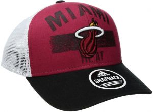 903dc59783b NBA Miami Heat Men s Downtown Trucker Meshback Hat
