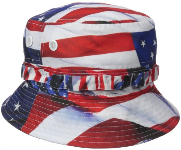 New Era Cap Men s Americana Bucket Hat USA 7c1b8e8bc0e