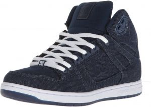 the latest 14a10 09e7d DC Womens Pure High-Top TX SE Skate Shoe, NavyNavy, 9.5 B B US
