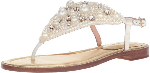 f691d453285 Kate Spade New York Women s Sama Flat Sandal