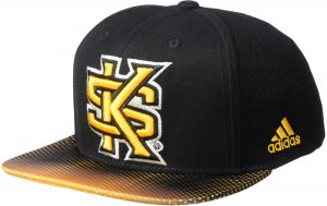 b392b4e8c1af04 adidas NCAA Kennesaw State Owls Men's Dotted Snapback, Black, One Size