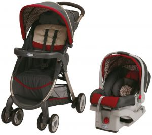 61cc71b6fcb77 Buy graco fastaction fold sport click connect travel system pierce ...
