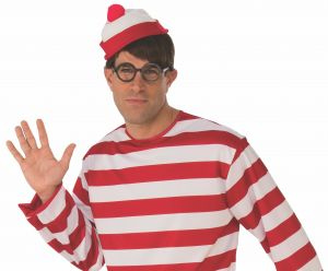 6a1cac6cc48 Rubie s Unisex-Adults Where s Waldo  Costume Hat