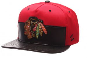 san francisco 4486e 3fd01 Zephyr NHL Chicago Blackhawks Men s Anarchy Snapback Hat, Adjustable,  Gray Black