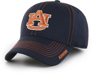 brand new 824bf 77d7c OTS NCAA Auburn Tigers Adult Start Line Center Stretch Fit Hat, Large X- Large, Navy