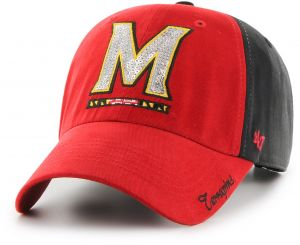 6151090d0e625 NCAA Maryland Terrapins Women s Sparkle Two Tone Clean Up Adjustable Hat