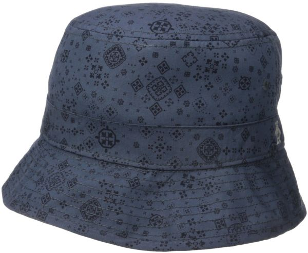 Original Penguin Men s Bandana Print Bucket Hat 74e28c5853e