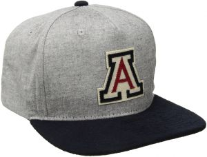 online retailer 5ffc1 f45bc Zephyr NCAA Arizona Wildcats Men s Boulevard Snapback Cap, Suit Navy,  Adjustable