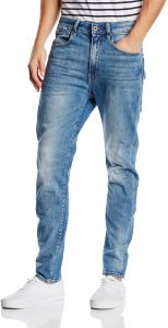 7f2223aec73 G-Star Raw Men's Type C 3D Super Slim Fit Jean in Humber Stretch Denim,  Light Aged, 28x32