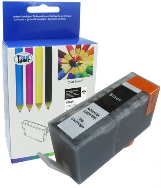 Cool Toner Compatible Ink Cartridge Replacement For Hp 564xl Black