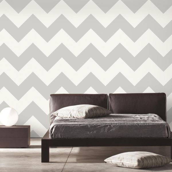 Roommates Rmk9075wp Peel And Stick Wallpaper 20 5 X 16 6 Feet Grey Souq Uae