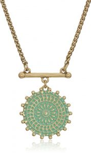 Lucky Brand Women s Medallion Necklace. by Lucky Brand 1445aa1f9c