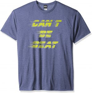 54264a41de5bf Chin-Up Men s Can t Be Beat Marled Royal Premium Performance Graphic Tee