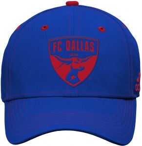 competitive price fc405 96dfc discount code for outerstuff mls fc dallas boys tonal logo structured  adjustable hat blue one size