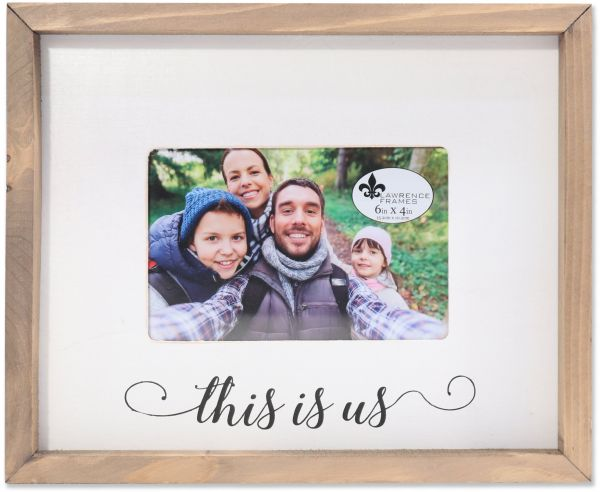 Lawrence Frames Farmhouse Wood Frame This Is Us Photo 4x6 Brown