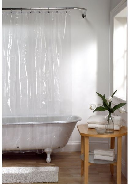 MAYTEX Softy EVA Shower Curtain Liner Odorless No PVC 70 Inches X 72 Clear