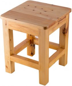 Strange Buy Alfi Brand 1 Step Wood Step Stool Ikea Alfi Bekvam Customarchery Wood Chair Design Ideas Customarcherynet