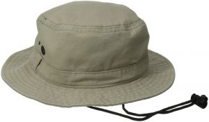 5ca2d13b362 San Diego Hat Co. Men s Bucket Hat with Chin Corn and Wicking Sweatband