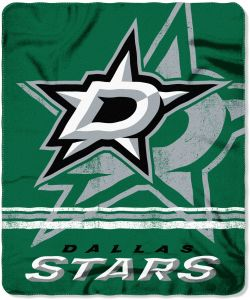 The Northwest Company Officially Licensed NHL Dallas Stars Fade Away  Printed Fleece Throw Blanket 67eb60830