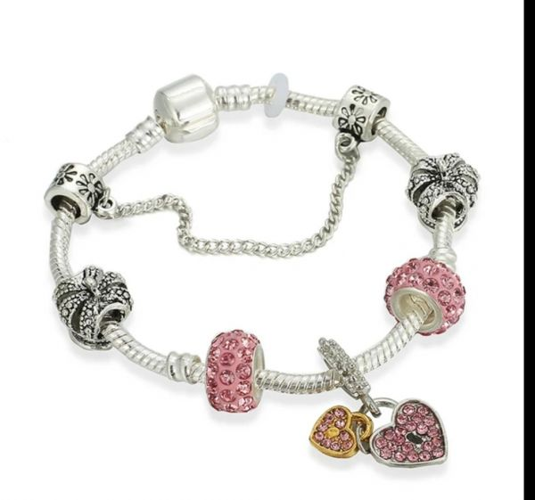 Women Fashion Pandora Bracelet With Charms