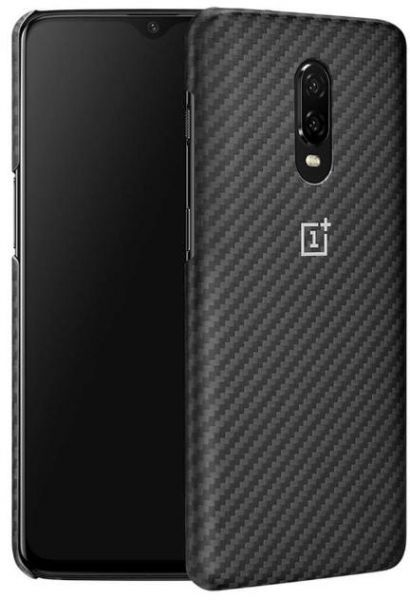 uk availability 29fd9 a4203 Oneplus 6T OFFICIAL Back Protective Case - Karbon