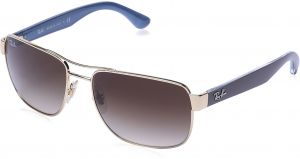 0908bf3d1b Ray-Ban Rectangle Unisex Sunglasses - 3530 1 13 58