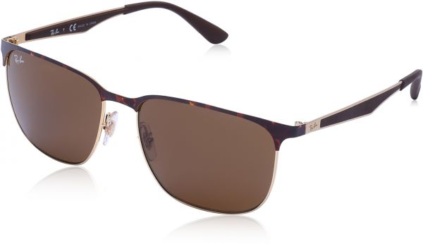 526f11d8ee Ray-ban Rectangle Unisex Sunglasses - 3569 9008 73 59